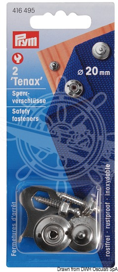 LOXX® snap fasteners and male self-tapping fasteners