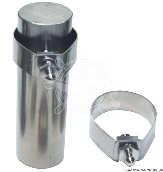 Stainless steel clamps with male