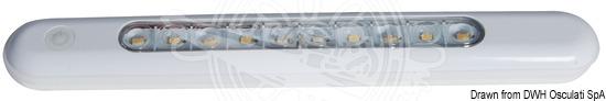 Freestanding watertight LED light fixture