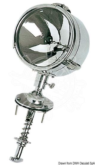 DHR high-beam light adjustable from inside