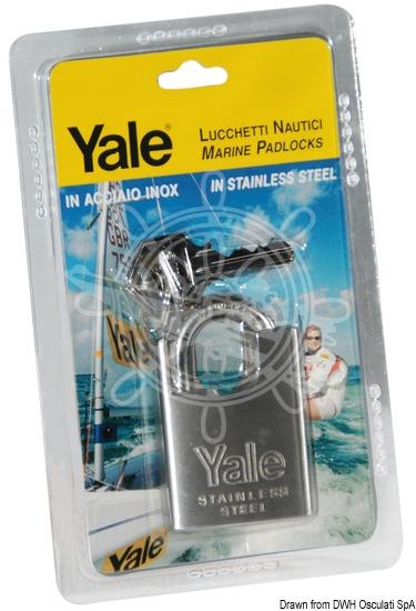 YALE - Stainless steel padlocks