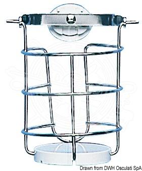 Cardan glass holder