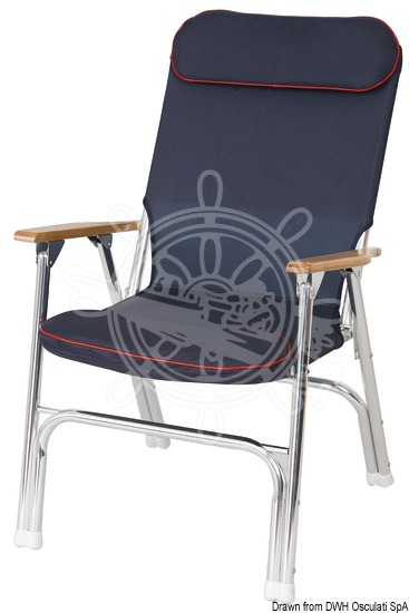 Foldable padded chair