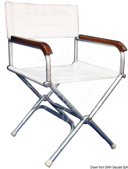 Director aluminium folding chair