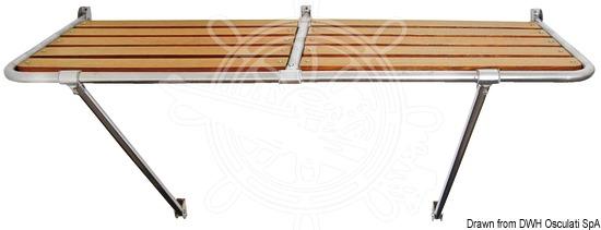Stern gangplank