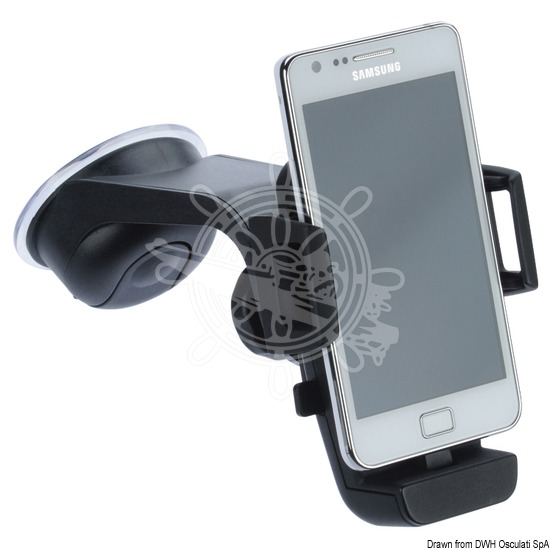Universal smartphone stand
