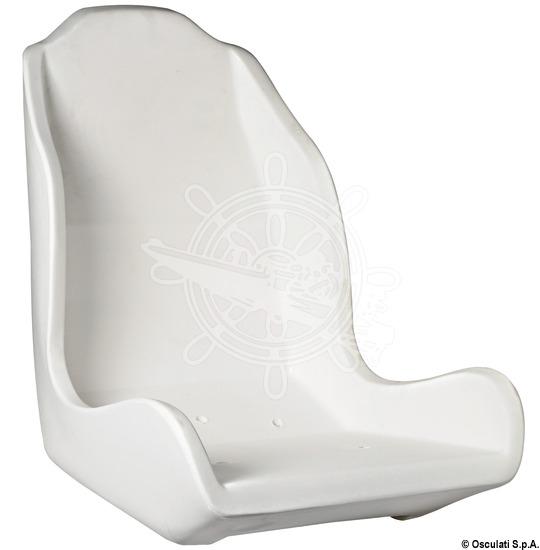 Anatomically designed seat frame