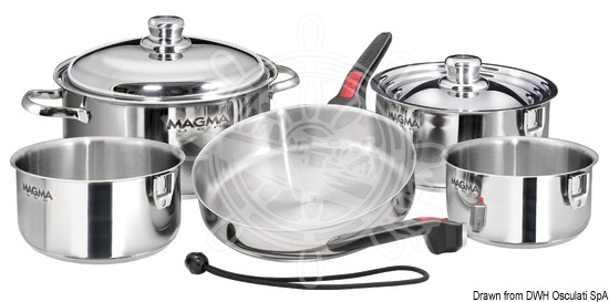 Popote - MAGMA stackable pots and pans
