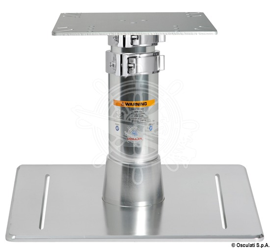 HEAVY DUTY pedestal, square base