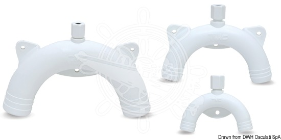 Polypropylene U-trap for toilet units