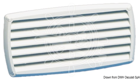 ABS Louvred Vent