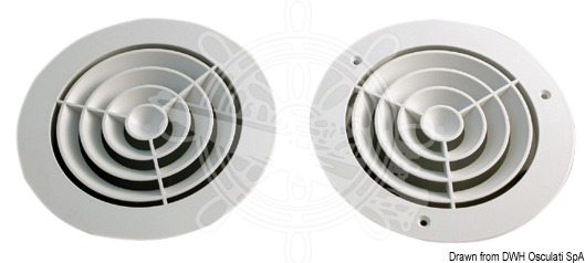 Concentric air diffusers