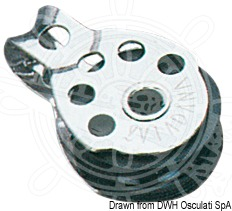 VIADANA Regatta mini-blocks for lines up to 8 mm