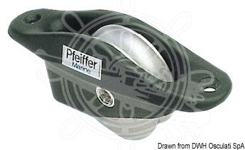 PFEIFFER recess-fit aluminium blocks