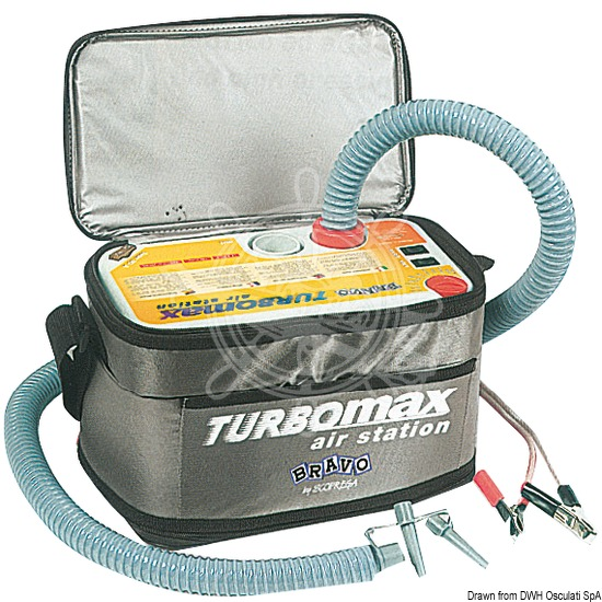 """Turbo Max""  Electric inflator pump for dinghies"