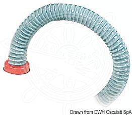 Inflating hose