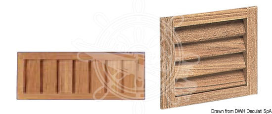 Shutter ventilation grids