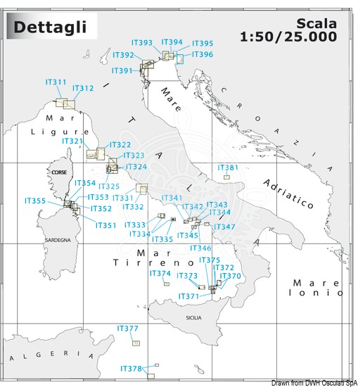 NAVIMAP Large Scale and Coastal Charts