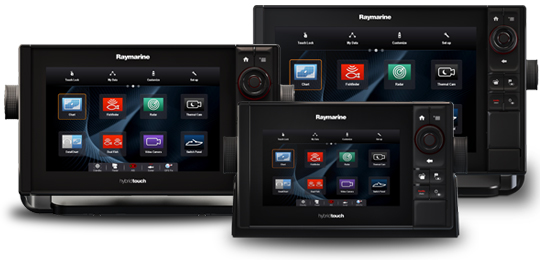 Raymarine Multifunction Displays NEW eS Series
