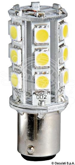 BAY15D LED bulb, offset bayonet pins
