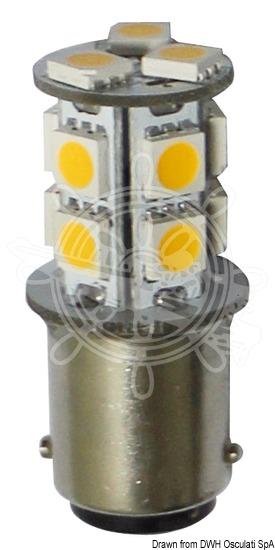 SMD LED bulb for spotlights, BA15D screw