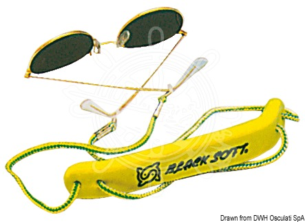 Floatable cord for sunglasses