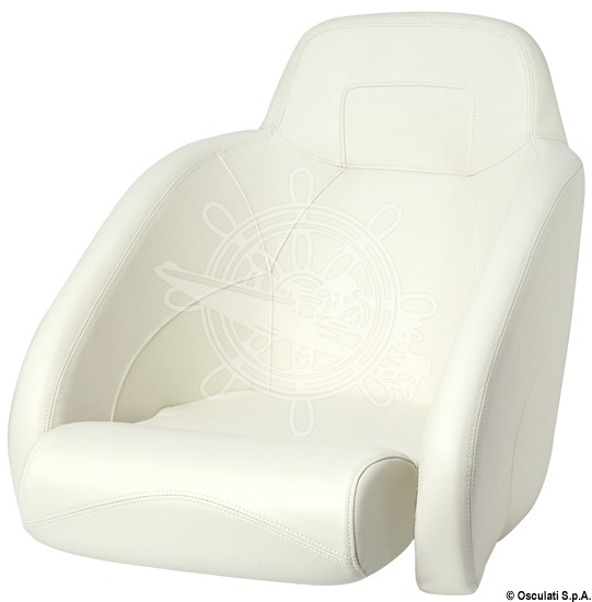 Anatomical seat padded with H54 flip up