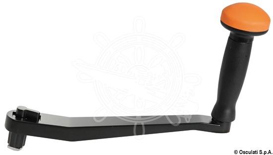 Speadgrip universal winch handle