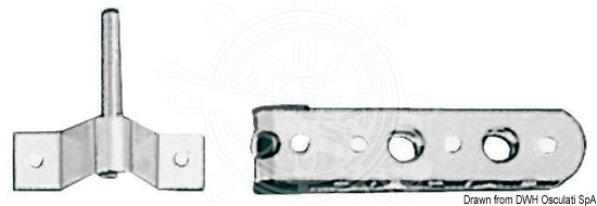 Rudder fittings - Pintles and Gudgeons