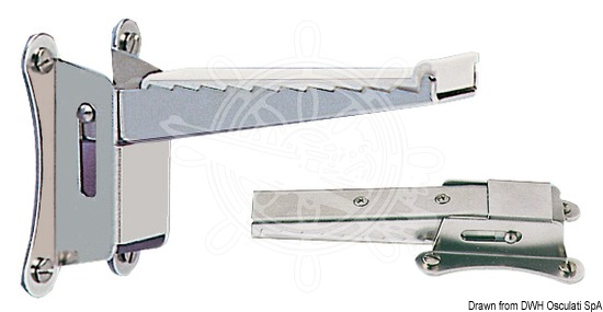Foldable mast step