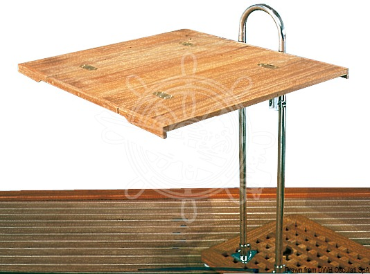 Table top for sailing boat post