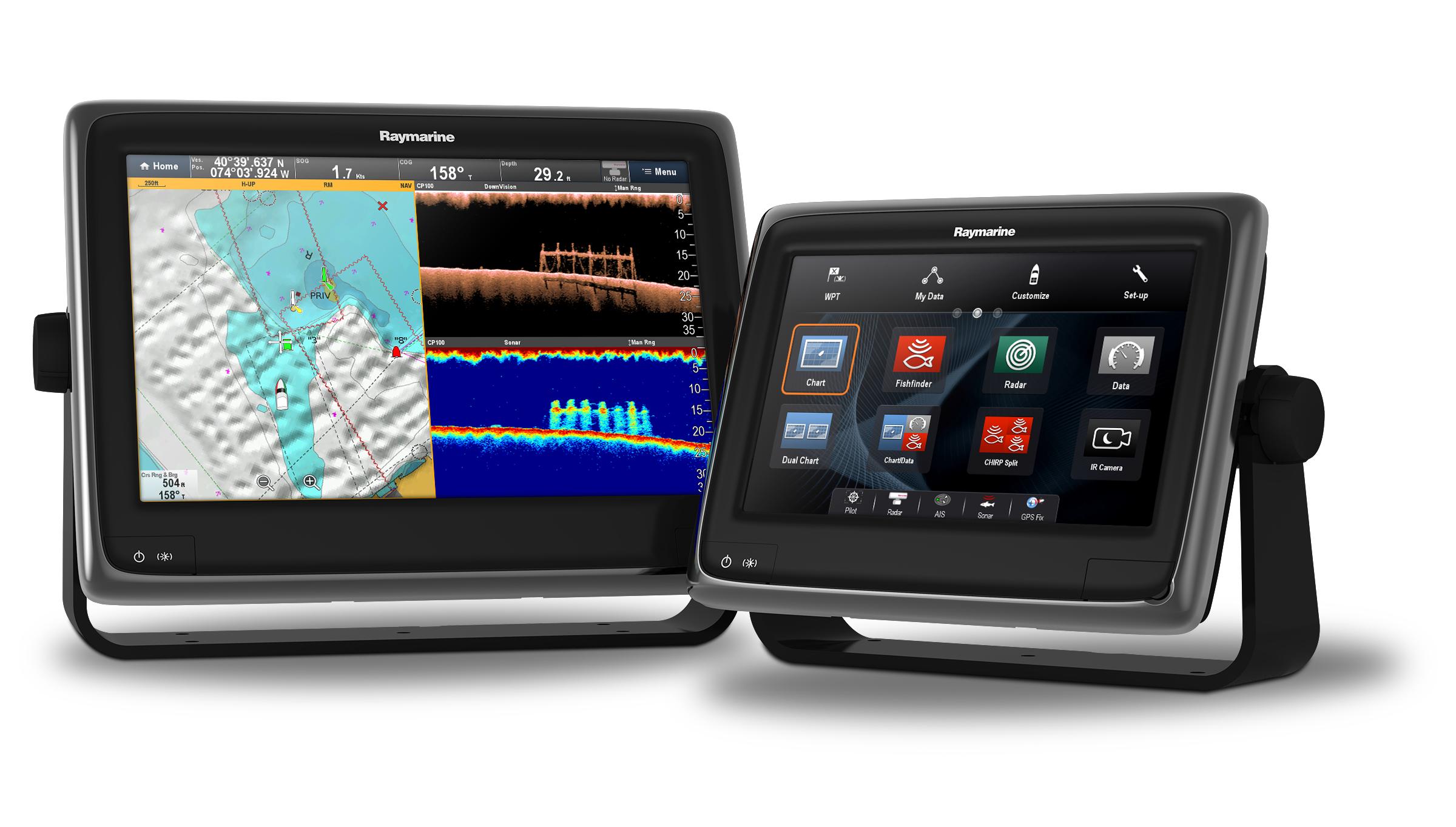 Raymarine Multifunction Displays aSeries