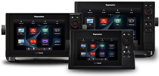 Raymarine Multifunction Displays NEW eS Series