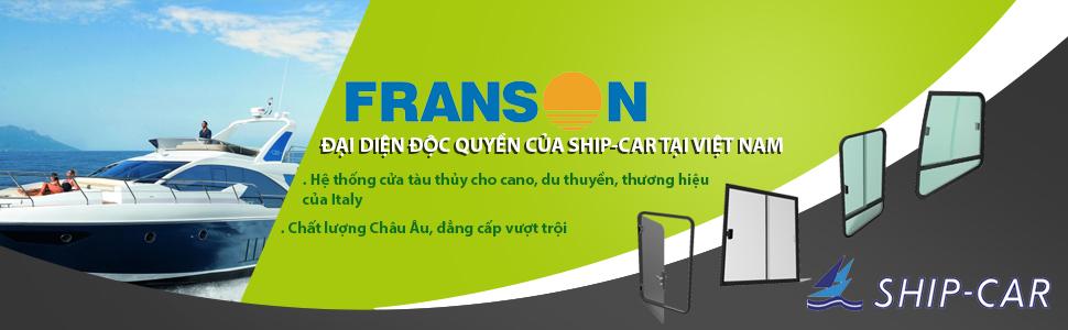 Franson đại diện độc quyền cho Ship-Car tại Việt Nam