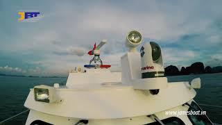 Raymarine equipment on Vietnam Coast Guard boats